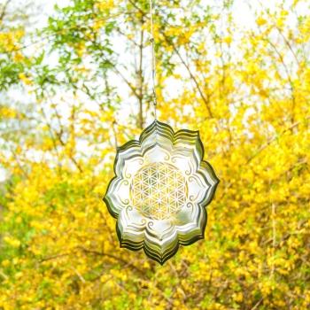 Windspiel Lebensblume Lotus online kaufen