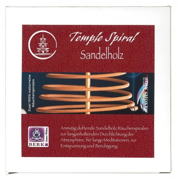 herrlich duftende Räucherspiralen aus Sandelholz
