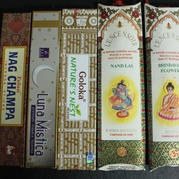 Indische Räucherstäbchen Set