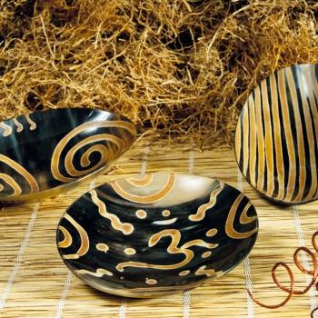 Schamanische Räucherschale für Räucherbündel & Salbei