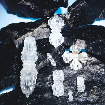 Doppel Dorje Bergkristall online kaufen