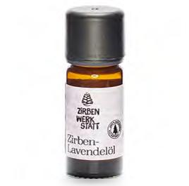 Beruhigendes & Entspannendes Zirben-Lavendel-öl