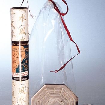 Räucherstäbchen Geschenk-Set Feng-Shui mit Halter aus Speckstein