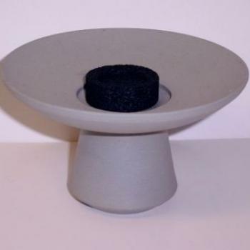 Räuchergefäß für Kohle-Räucherungen und Räucherstäbchen