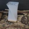 Aromalampe/Duftlampe Odoris mundgeblasen mit Lebensblume-Einsatz