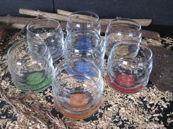 Mythos Gläser-Set Chakra Gläser