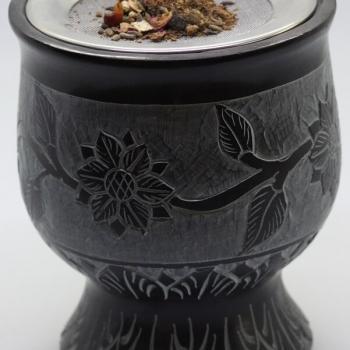 Räuchergefäß mit Sieb für Räuchermischungen und Kräuter online