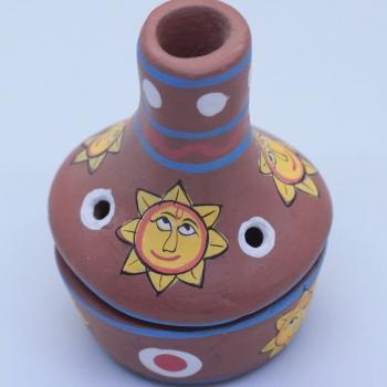 Räucherkamin Sonne für Räucherkegel online kaufen