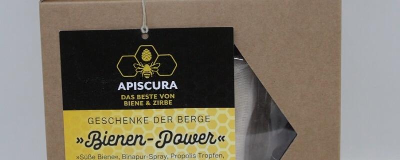 Apiscura, das Beste von Biene & Zirbe