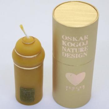 Traditionell gefertigte Honigkerzen von Perger